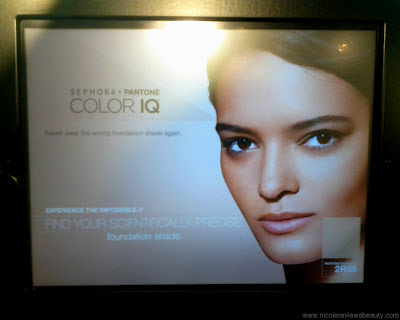 SEPHORA + PANTONE Color IQ Foundation Matching iPad