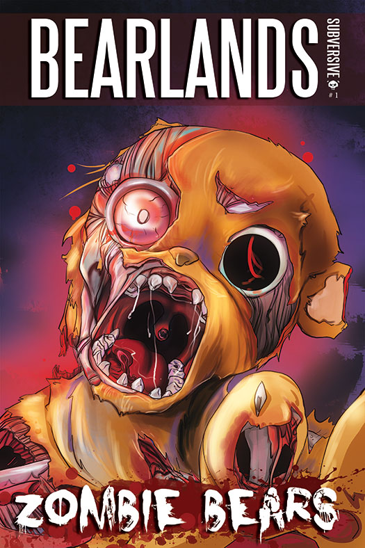 Bearlands, Zombie Bears Issue 1 Cover