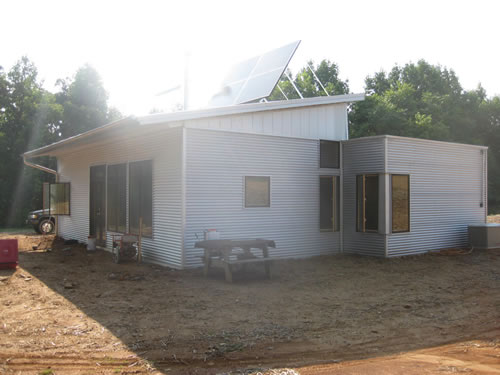 Prefab Home Off Grid Construction Just About Ended Us This