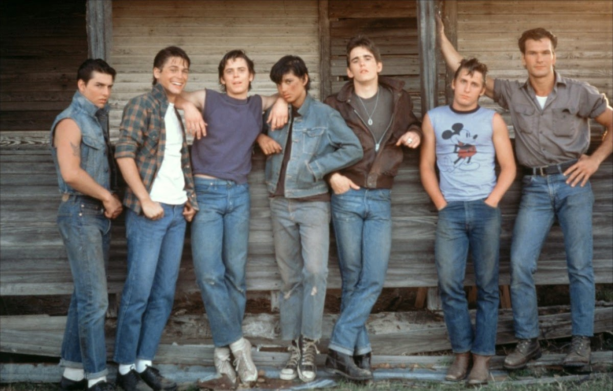 """The Greasers from Francis Ford Coppola's """"The Outsiders ..."""