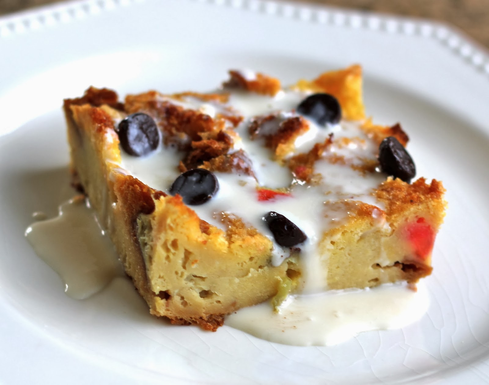 Panettone Bread Pudding Panettone Bread Pudding With