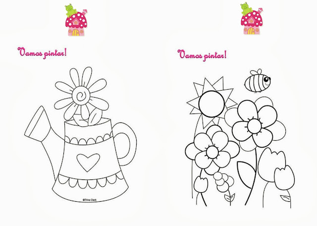 festa jardim encantado vintage:Jardim Encantado – Livrinho de Atividades!