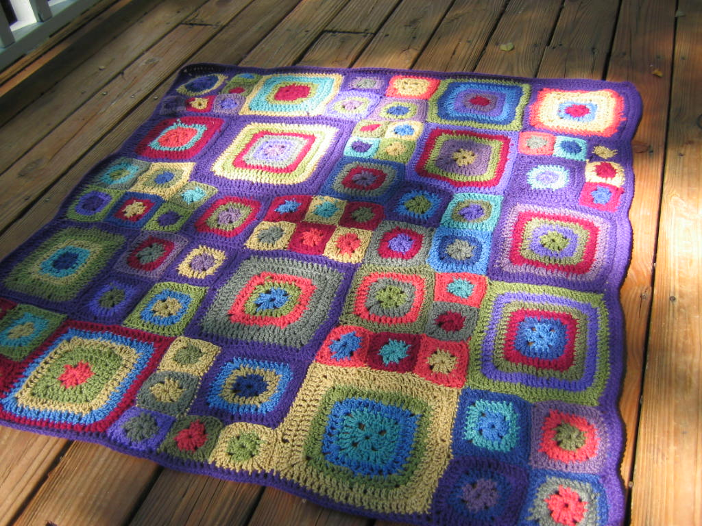 Zigzag Shells Baby Afghan - Free Patterns - Download Free Patterns