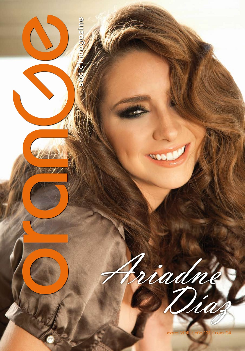 Ariadne Diaz Revista H Ariadne daz en la revista