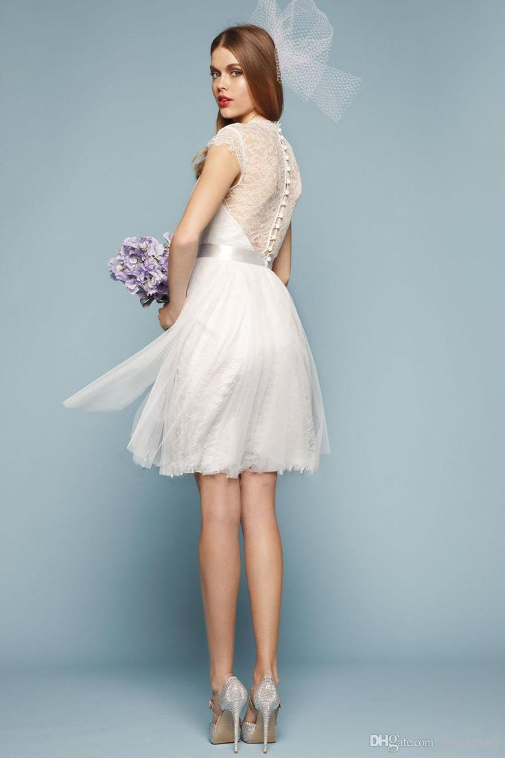 Short Wedding Dresses 2015