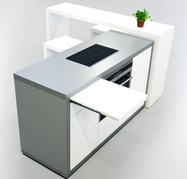 Una cocina modular inteligente cocinas con estilo for Cocinas integrales inteligentes