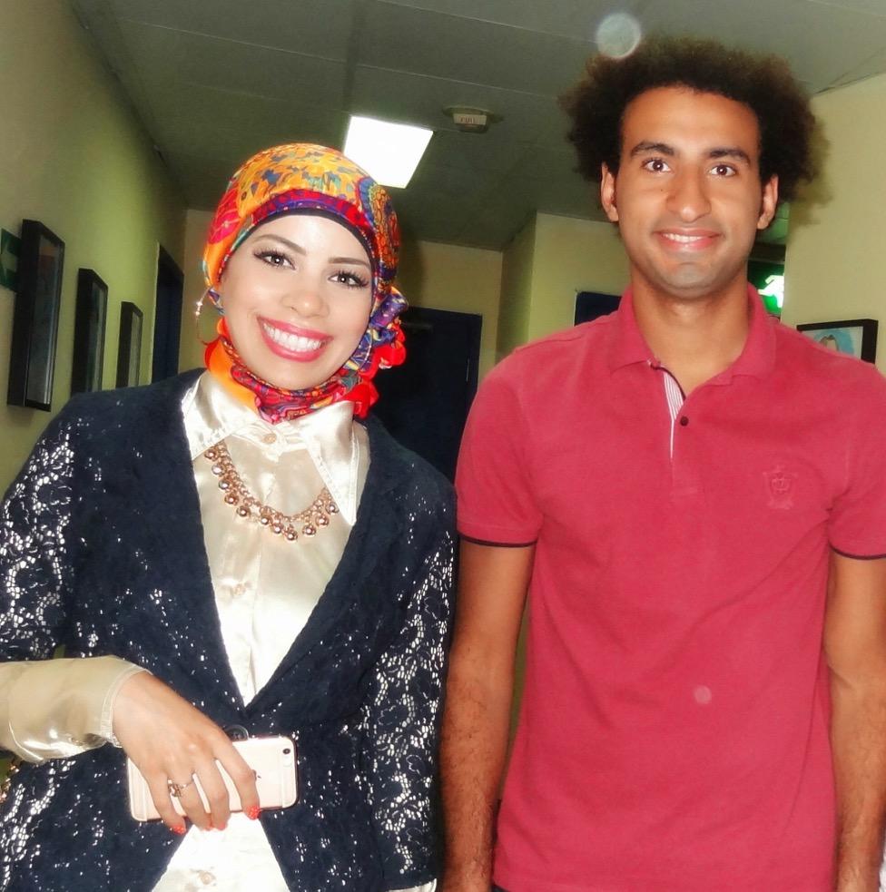 مع نجم مسرح مصر الفنان على ربيع - سبتمبر 2016