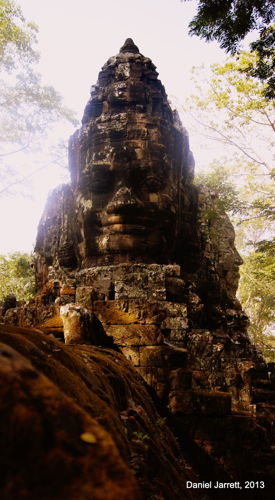 Faces of Angkor Thom