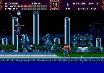 Castlevania Bloodlines Water Wizard