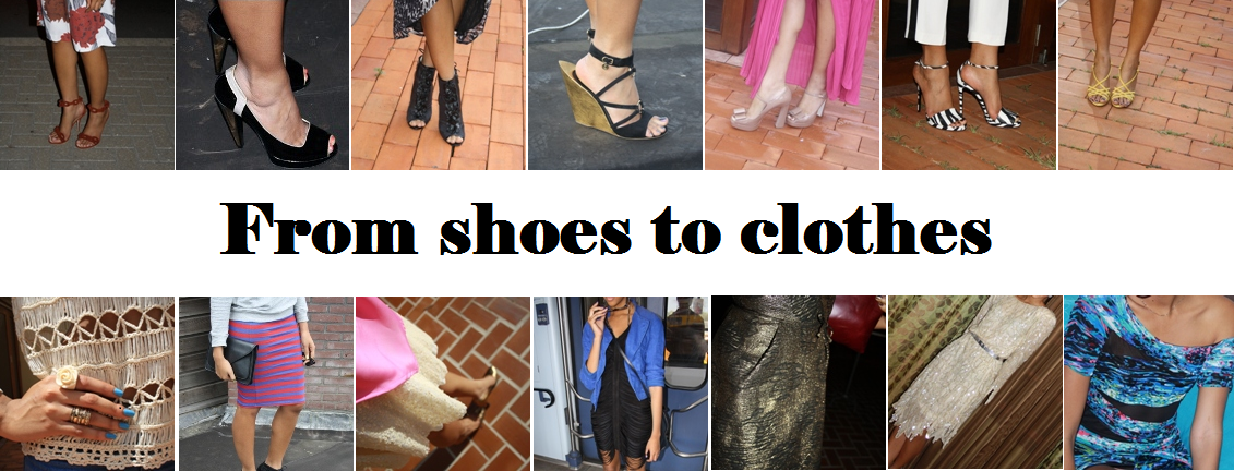 From shoes to clothes