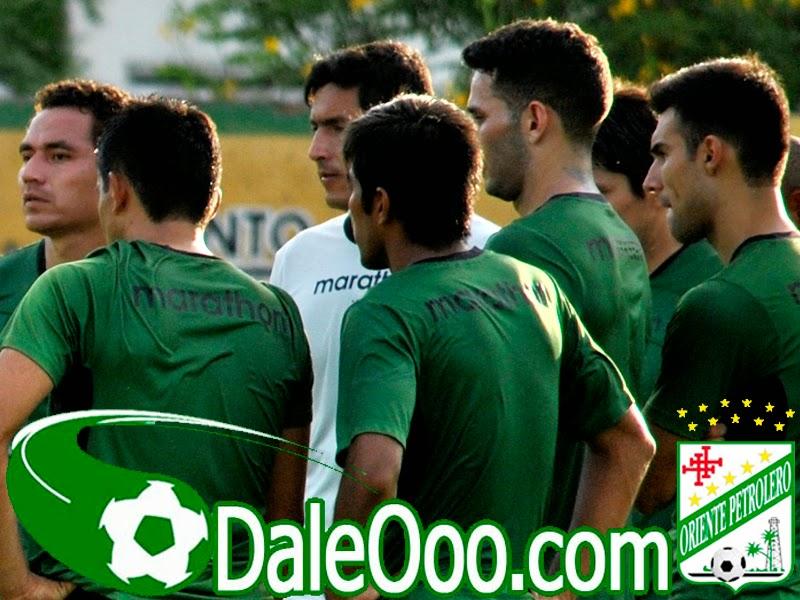 Oriente Petrolero - Gualberto Mojica - Ronald Raldes - DaleOoo.com sitio del Club Oriente Petrolero