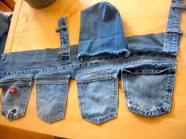 Что можно сшить из старых джинс