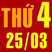 Tử vi 25/3/2015 Thứ Tư - 12 Con Giáp hôm nay