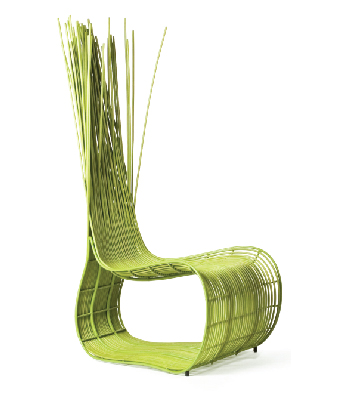 Contemporary basketry one year for Chaise yoda