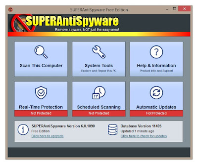 SUPERAntiSpyware Free 6.0.1208