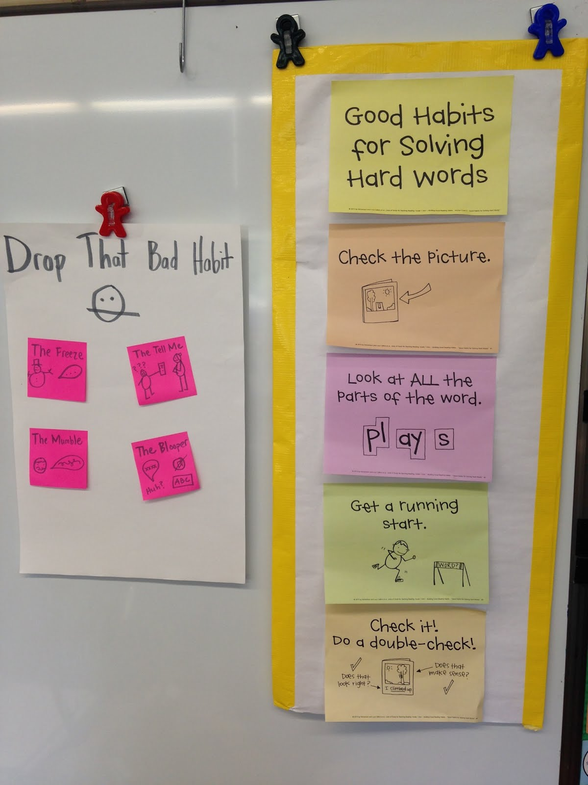 Ms. Closter's First Grade News: Good/Bad Habits