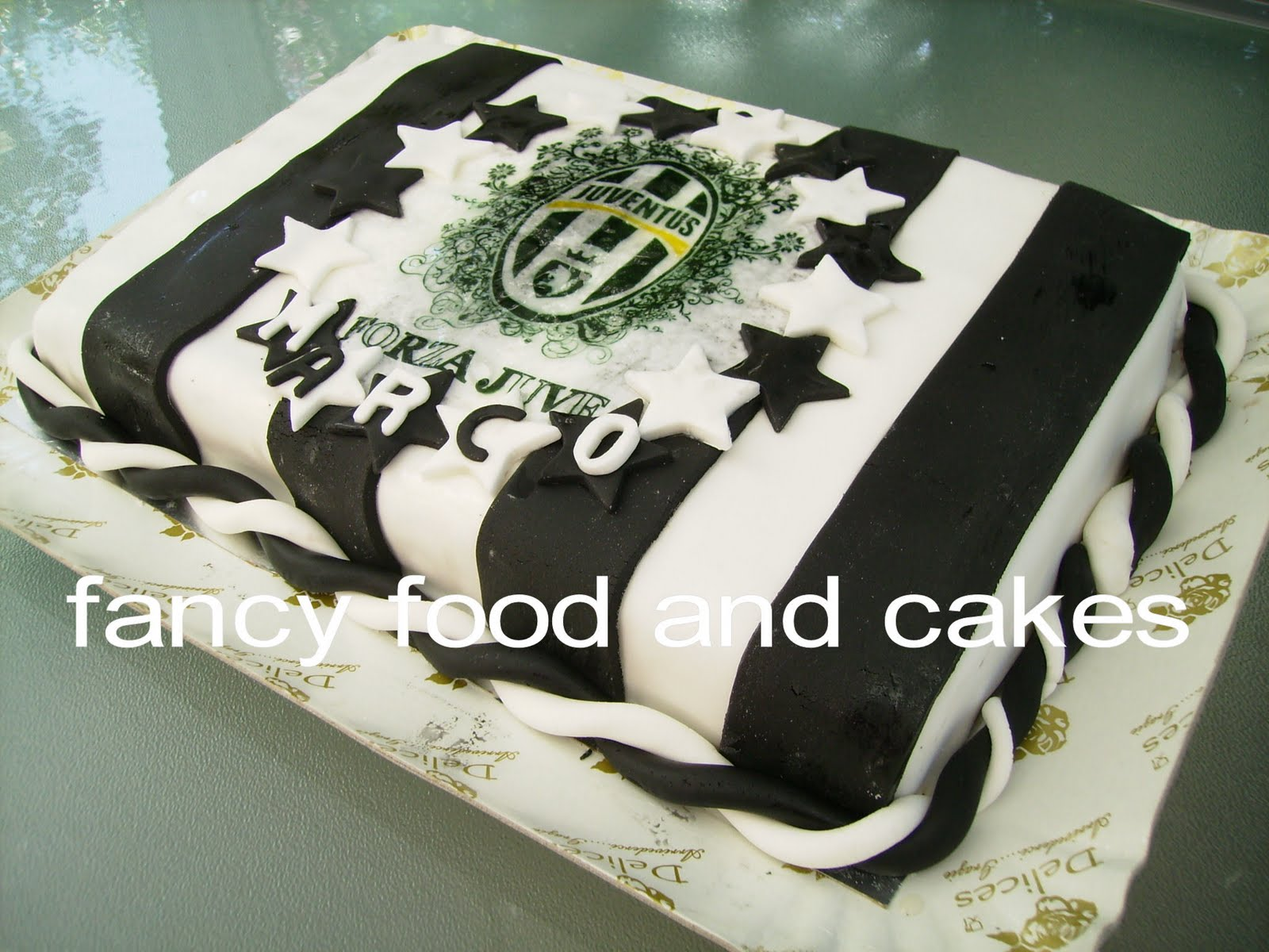 Fancy Food Cakes Torta Forza Juve
