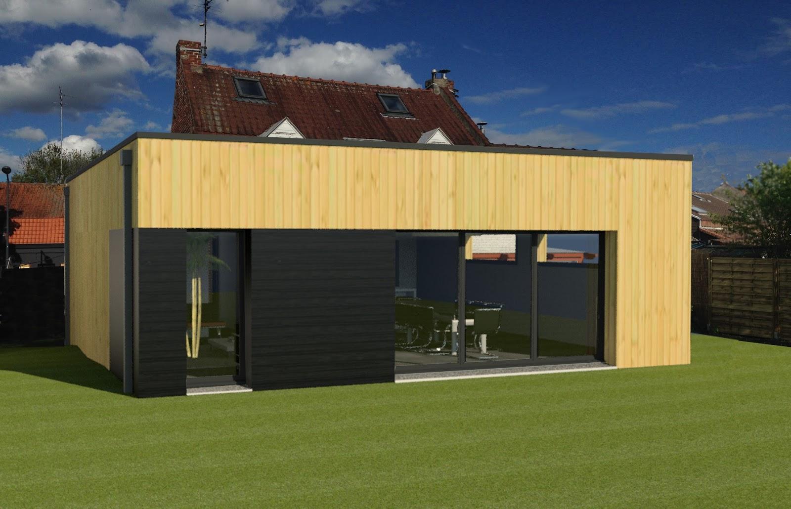 extension d'une maison individuelle a villeneuve d'ascq