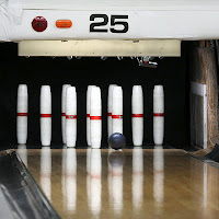 The game is played on the same lanes as regular &quot;tenpin&quot; bowling, but fundamental differences separate the two variations. First of all, you get three balls per frame, rather than two. Second, the balls fit in the palm of your hand and only weigh up to two pounds, seven ounces. The pins are almost 16 inches tall and are shaped like cylinders. Third, and most interesting, pins knocked down that remain on the lane are in play as &quot;wood&quot;. This often makes for easier - and sometimes more frustrating - shots.
