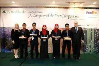JA Company Social Media Award | Asia Pacific Company of The Year 2012