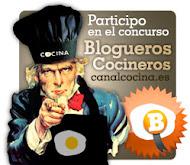 Este blog participa en el concurso Blogueros Cocineros