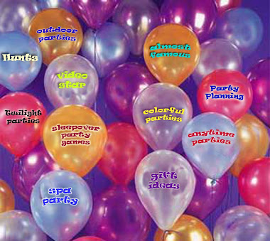 Kids party express going away party ideas for Balloon party games