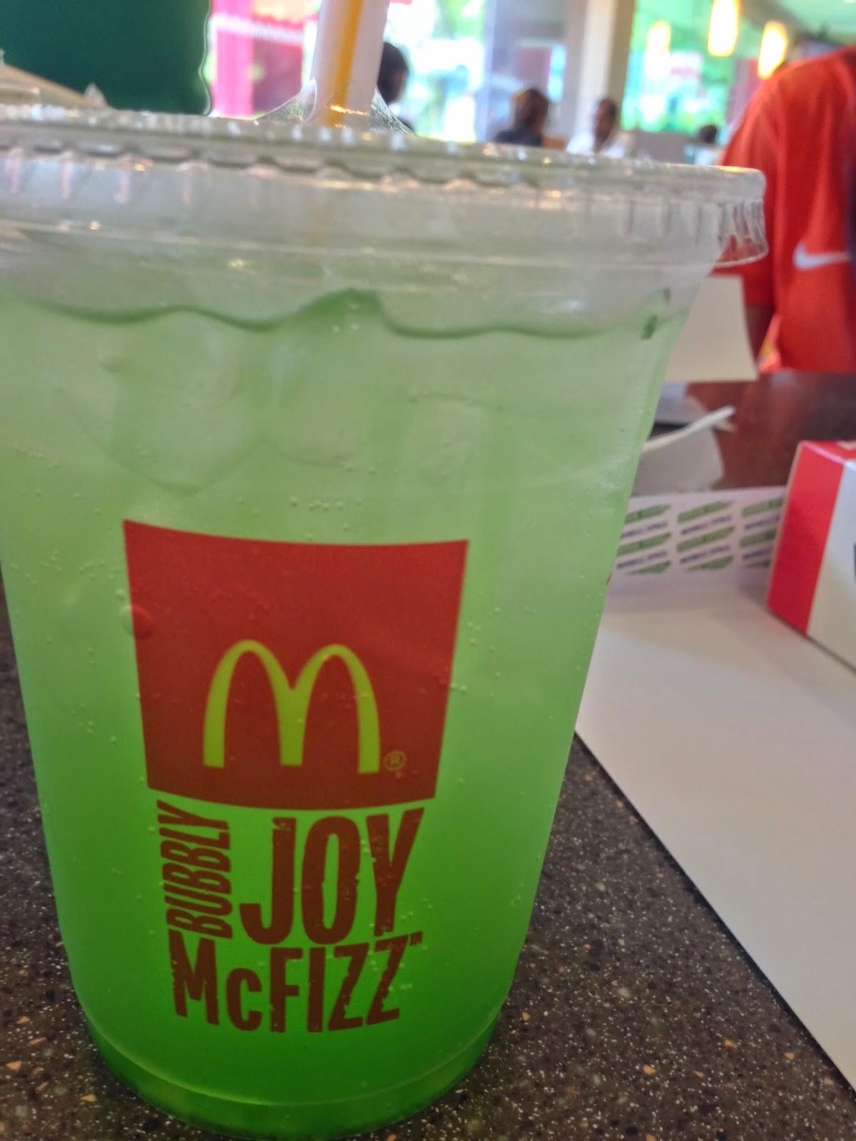 McDonald's Fiesta Lime McFizz