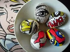cartoon eggs easter egg idea
