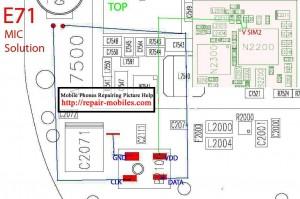 Nokia E71 Mic problem solution