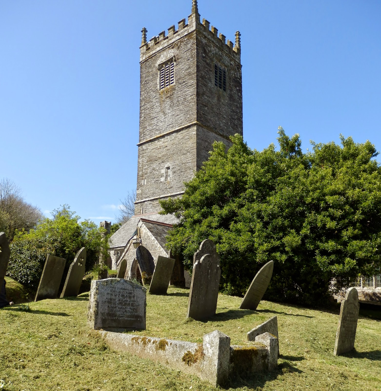 Church Lanteglos-by Fowey of St Willow