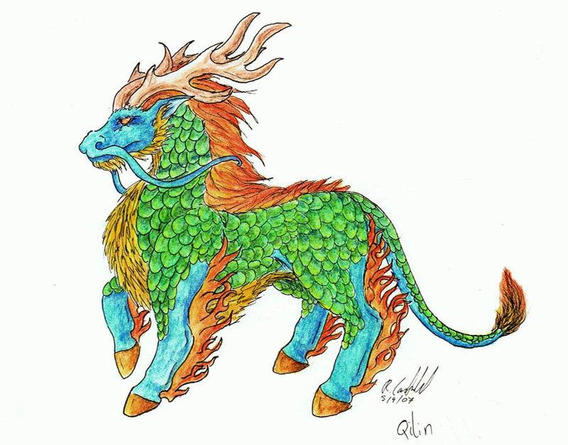 Legenda Dan Mitos Qilin atau Kirin ~ De'facto All degrees
