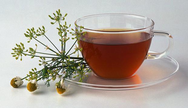 Chá para gases intestinais