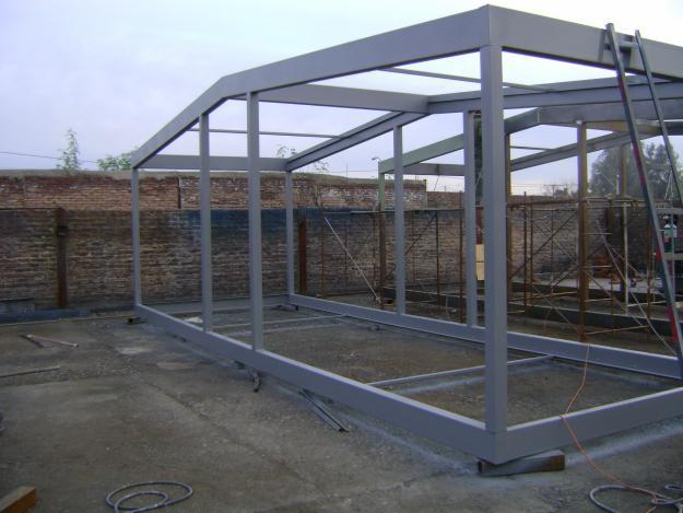 Tf ingenieria industrial ltda - Estructura metalicas para casas ...