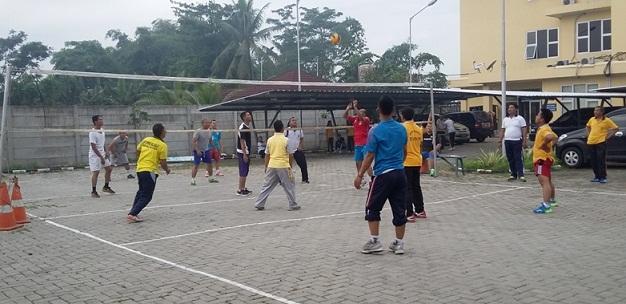 Keluarga Besar Samsat Balaraja Gelar Olahraga