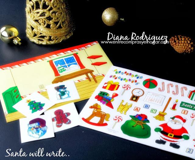 Santa will write letter from santa