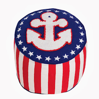 The Company Store anchor pouf