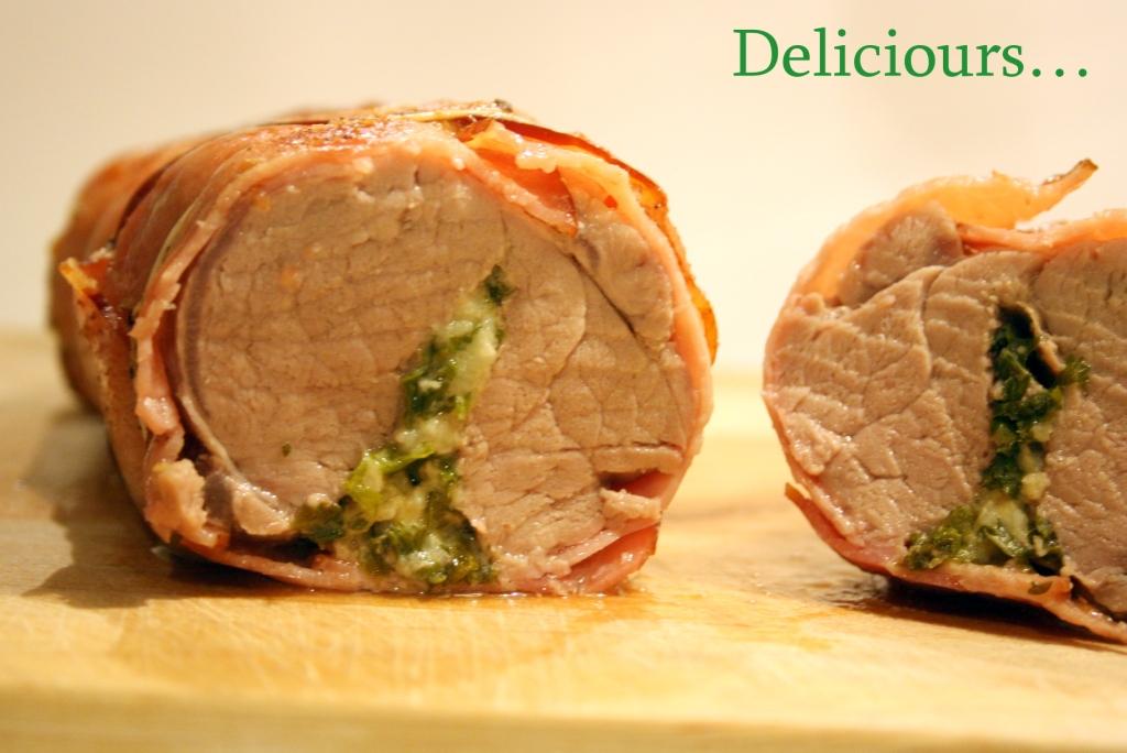 Deliciours filet mignon en persillade au bacon - Cuisiner filet mignon ...