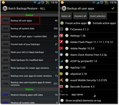 Backup Android Dengan Titanium Backup
