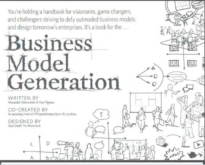 Osterwalder and Pigneur, 2010] Business Model Generation English ...