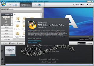 KosKomputer PC Screenshot Review616 Wondershare DVD Slideshow Builder Deluxe 6.1.12.0 Full Crack