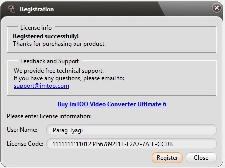 any video converter ultimate license code