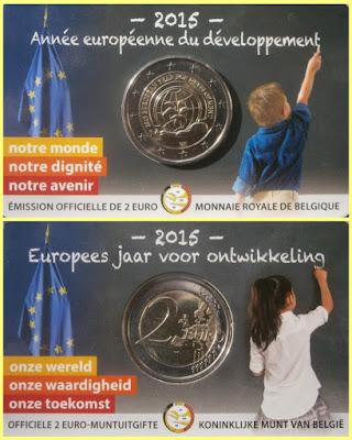 Belgica 2015 Coincard Año Desarrollo