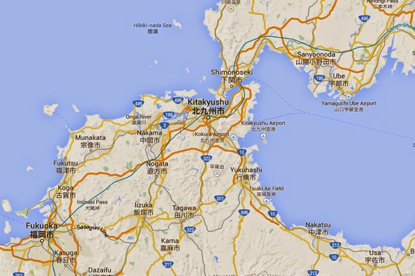 Kitakyushu Real Estate Invest In Japanese Real Estate map