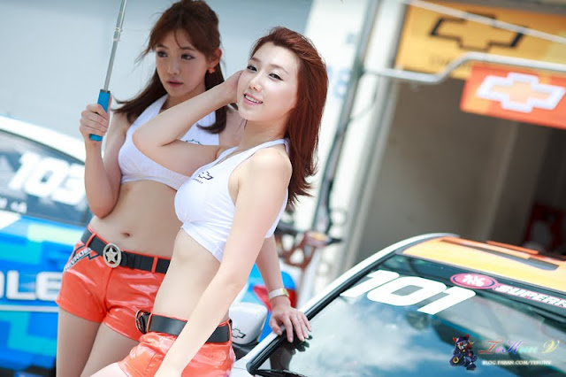 Lee Sung Hwa at CJ Super Race R5 2011