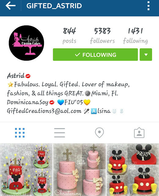 gifted astrid instagram screenshot