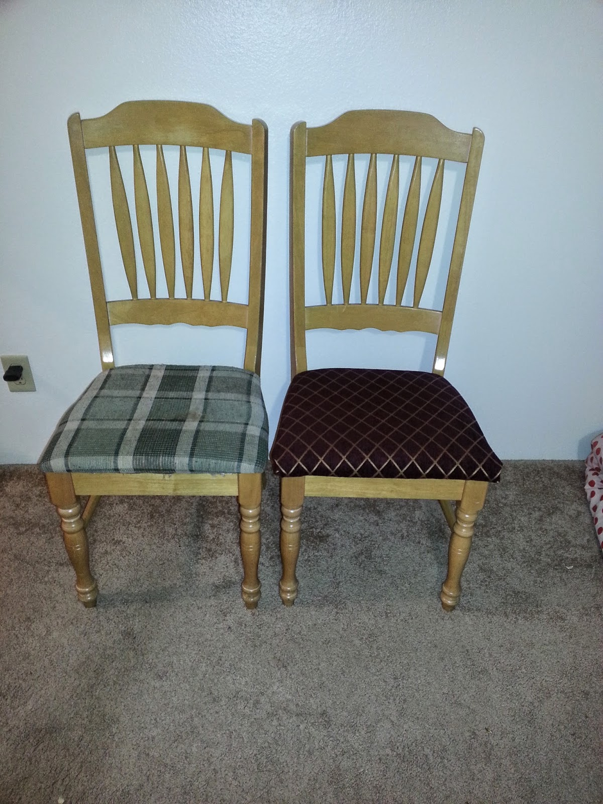 how to upholter a chair, do it yourself easy project, home decor, furniture renovation, spend less gain more