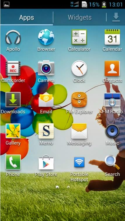 Custom ROM Sony Xperia dan Samsung Galaxy S4 Untuk Andromax U