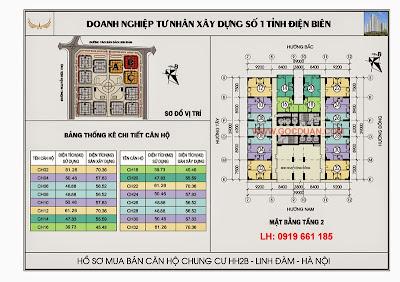 mat bang tang 2 chung cu hh2b linh dam