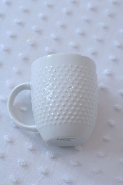 hobnail style mug from target