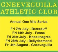 One Mile Race Series in Kerry & NW Cork...Every Fri